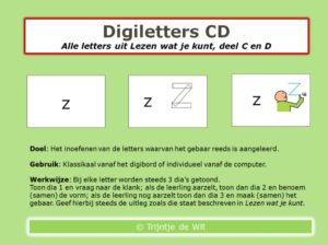 DigiLetters CD